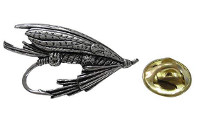 Fishing Fly Lapel Pin