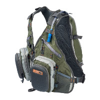 Fly Fishing Backpack Vest Combo Chest Pack